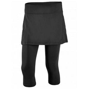 Bloq+UV Black 2in1 Workout Active Leggings Skirt M